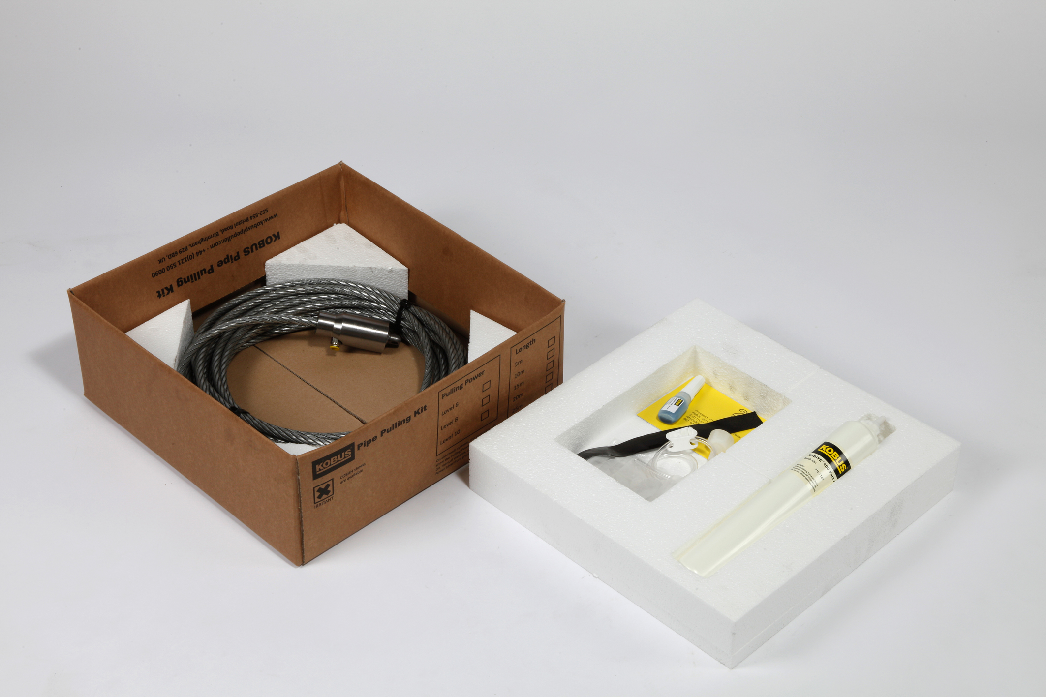 Pipe Pulling Kit including KOBITE Bonding Compound Image