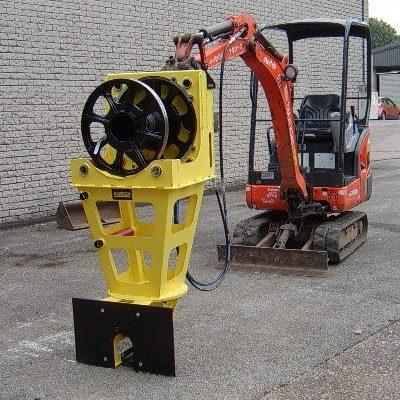 KPP400 - Excavator Mounted Pipe Puller Image