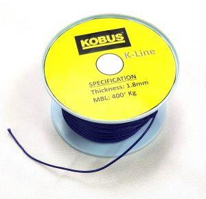 K-Line Drawstring 1.8mm (MBL 450kgs) Black Image