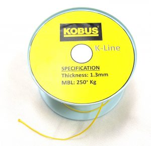 K-Line Drawstring 1.3mm (MBL 270kgs) Yellow Image
