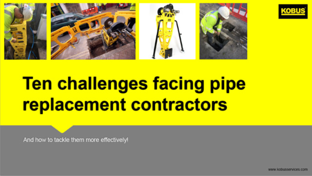 Launching our new guide for pipe repair and replacement professionals