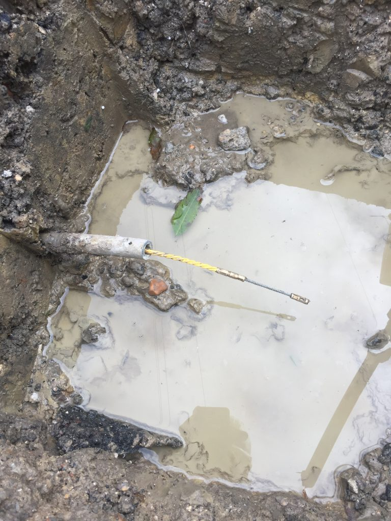Are you having to optimise working ground conditions when conducting pipe repairs?