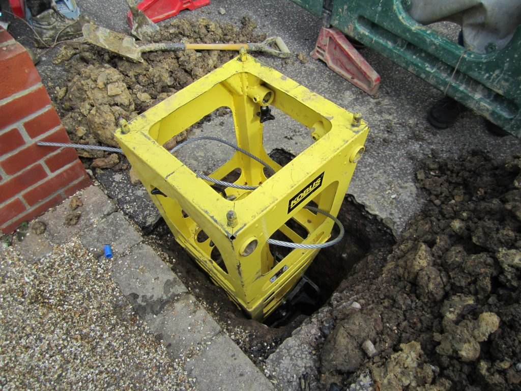 Minimising excavations with Kobus Pipe Puller