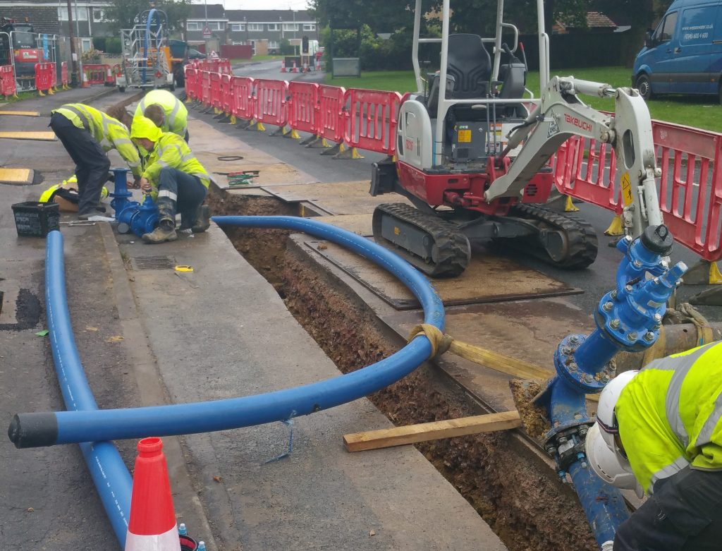 water mains renewal scheme