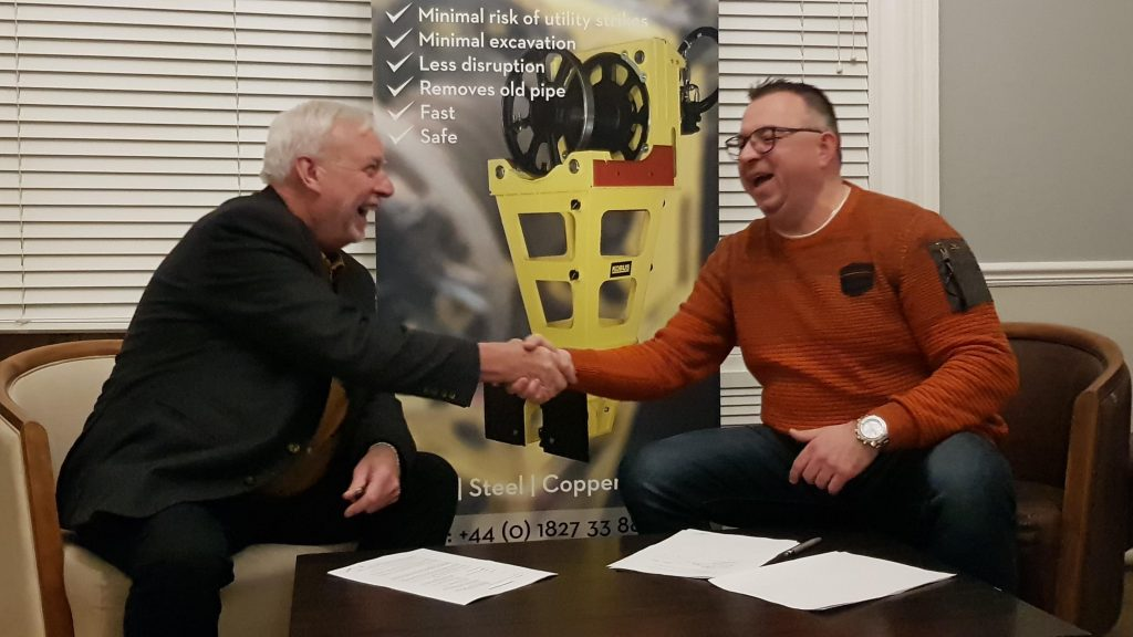 Kobus & Infra Elite sign distributor agreement
