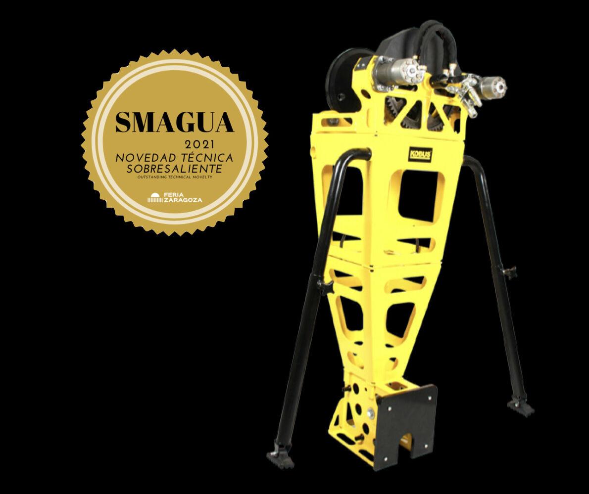 Kobus partner wins gold award at SMAGUA 2021